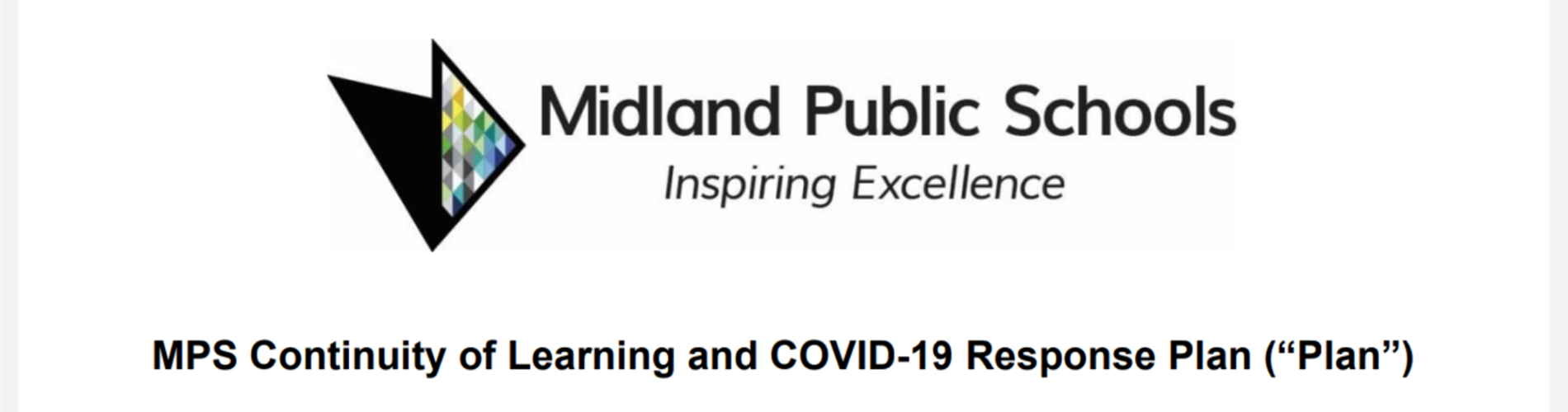 MPS Continuity of Learning and COVID-19 Response Plan